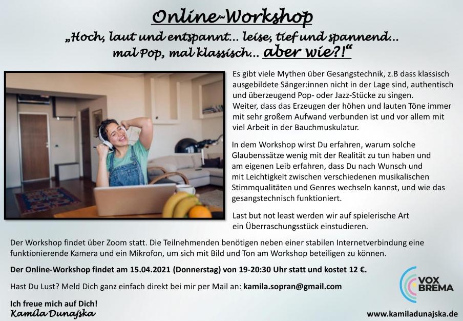 Online Workshop - aber Wie